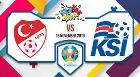 Prediksi Bola Jitu Turkey vs Iceland 15 November 2019
