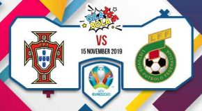 Prediksi Bola Jitu Portugal vs Lithuania 15 November 2019