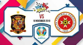 Prediksi Bola Jitu Spain vs Malta 16 November 2019
