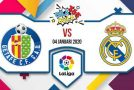 Prediksi Bola Jitu Getafe vs Real Madrid 04 Januari 2020