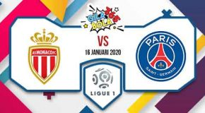 Prediksi Bola Jitu Monaco vs Paris Saint Germain 16 Januari 2020