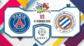 Prediksi Bola Jitu Paris Saint Germain vs Montpellier 01 Februari 2020