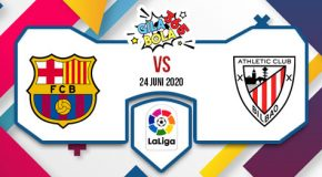 Prediksi Bola Jitu Barcelona Vs Athletic Bilbao 24 Juni 2020
