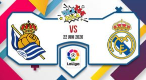 Prediksi Bola Jitu Real Sociedad vs Real Madrid 22 Juni 2020