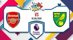 Prediksi Bola Jitu Arsenal Vs Norwich City 02 Juli 2020