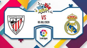 Prediksi Bola Jitu Athletic Bilbao vs Real Madrid 5 Juli 2020