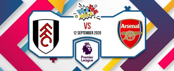 Prediksi Bola Jitu Fulham Vs Arsenal 12 September 2020