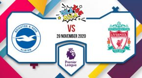 Prediksi Bola Jitu Brighton vs Liverpool 28 November 2020