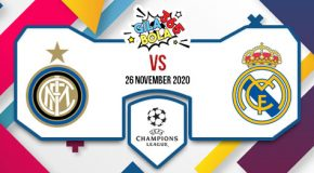 Prediksi Bola Jitu Inter vs Real Madrid 26 November 2020
