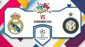 Prediksi Bola Jitu Real Madrid vs Inter 04 November 2020