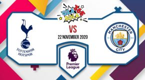 Prediksi Bola Jitu Tottenham Vs Man City 22 November 2020